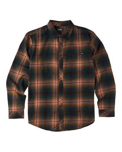 5 Coastline - Camisa de manga larga para Hombre Negro U1SH12BIF0 Billabong