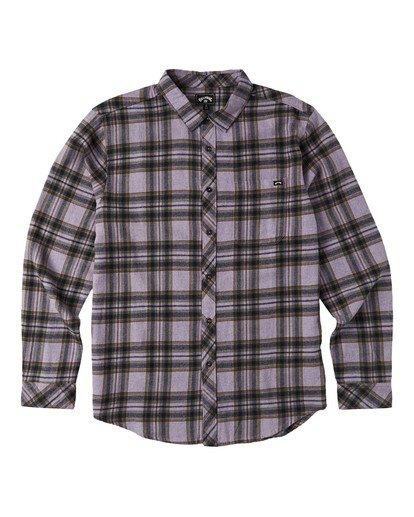 4 Coastline - Camisa de manga larga para Hombre Violeta U1SH12BIF0 Billabong