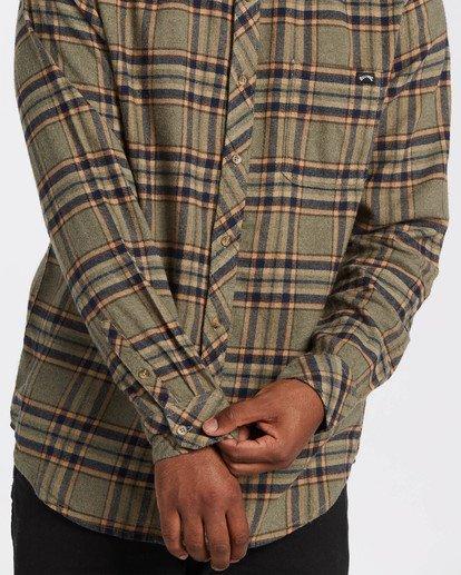 3 Coastline - Camisa de manga larga para Hombre  U1SH12BIF0 Billabong