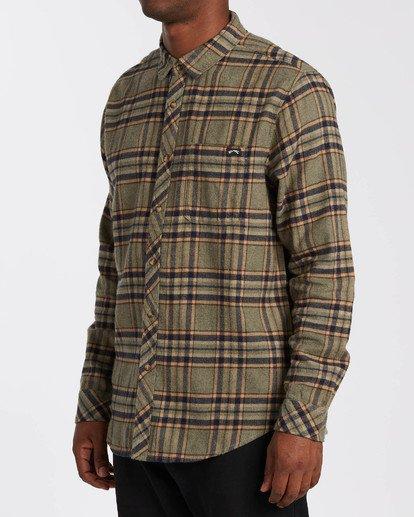 2 Coastline - Camisa de manga larga para Hombre  U1SH12BIF0 Billabong