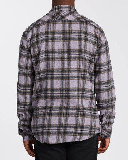 2 Coastline - Camisa de manga larga para Hombre Violeta U1SH12BIF0 Billabong