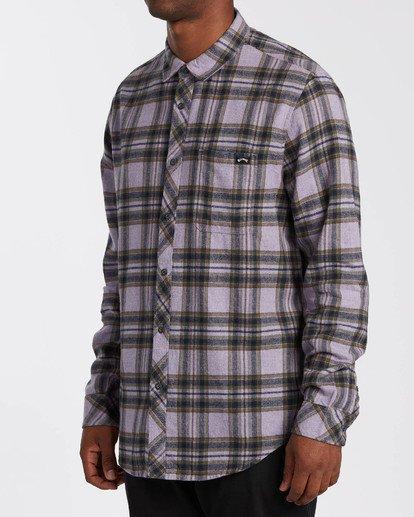1 Coastline - Camisa de manga larga para Hombre Violeta U1SH12BIF0 Billabong