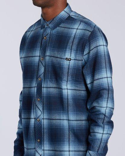 3 Coastline - Langärmliges Hemd für Männer Blau U1SH12BIF0 Billabong