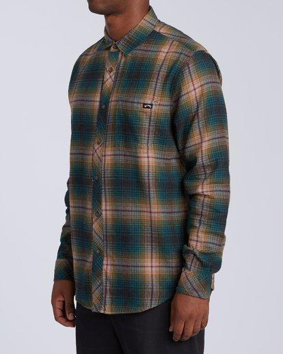 2 Coastline - Camisa de manga larga para Hombre Negro U1SH12BIF0 Billabong