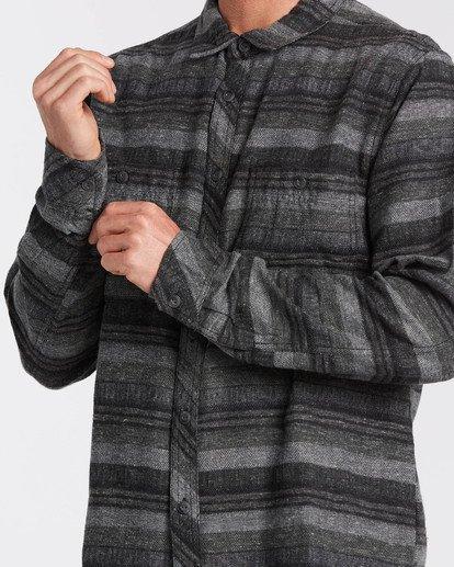 3 Offshore - Camisa de manga larga para Hombre Negro U1SH15BIF0 Billabong