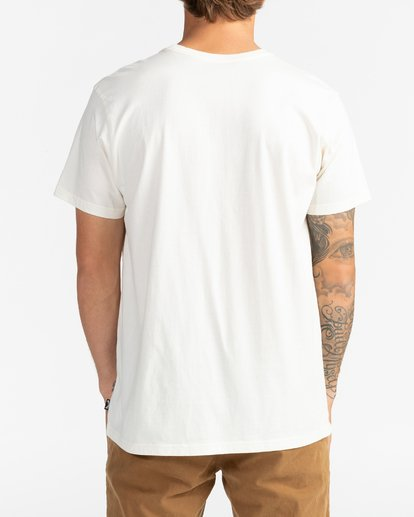 5 Spinner - Camiseta para Hombre Blanco U1SS06BIF0 Billabong