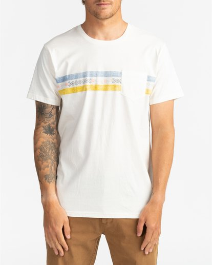 2 Spinner - Camiseta para Hombre Blanco U1SS06BIF0 Billabong