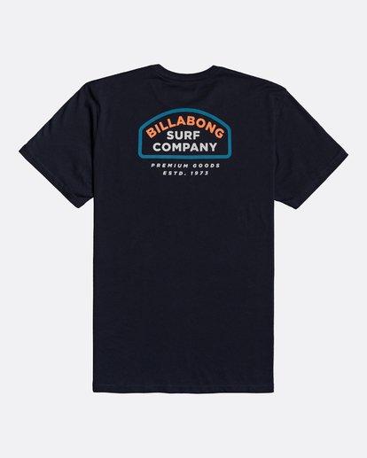 1 Double Ware - T-Shirt für Männer Blau U1SS11BIF0 Billabong