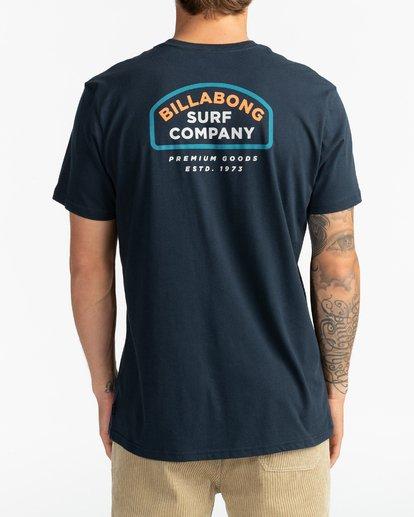 5 Double Ware - T-Shirt für Männer Blau U1SS11BIF0 Billabong