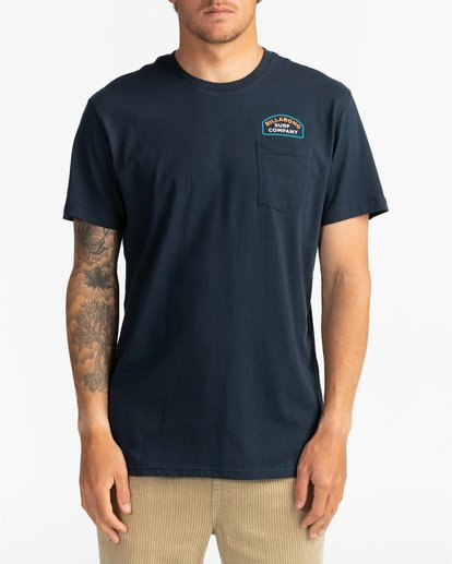 2 Double Ware - T-Shirt für Männer Blau U1SS11BIF0 Billabong