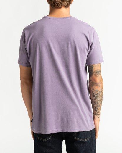 5 Wave Wash Dream Reissue - Camiseta para Hombre Violeta U1SS12BIF0 Billabong