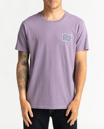 2 Wave Wash Dream Reissue - Camiseta para Hombre Violeta U1SS12BIF0 Billabong