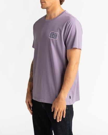 3 Wave Wash Dream Reissue - Camiseta para Hombre Violeta U1SS12BIF0 Billabong