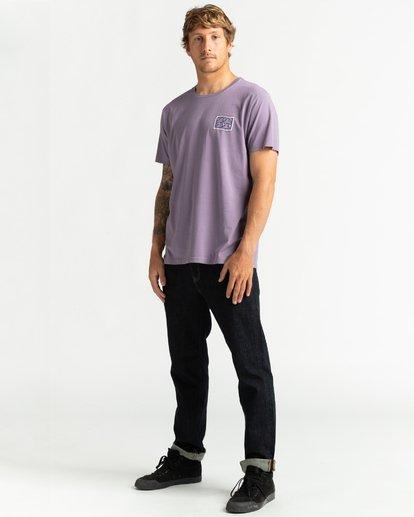 4 Wave Wash Dream Reissue - T-Shirt für Männer Violett U1SS12BIF0 Billabong