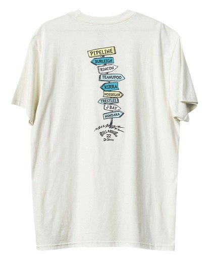 3 Dr Seuss From Here To There - T-Shirt für Männer Weiss U1SS2ABIF0 Billabong