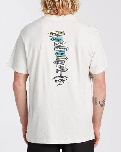1 Dr Seuss From Here To There - T-Shirt für Männer Weiss U1SS2ABIF0 Billabong