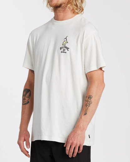 2 Dr Seuss From Here To There - T-Shirt für Männer Weiss U1SS2ABIF0 Billabong