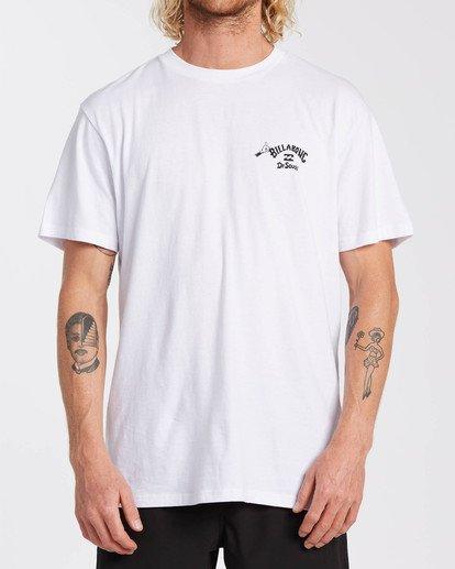 0 Dr Seuss On The Places You'Ll Go - T-shirt pour Homme Blanc U1SS2CBIF0 Billabong