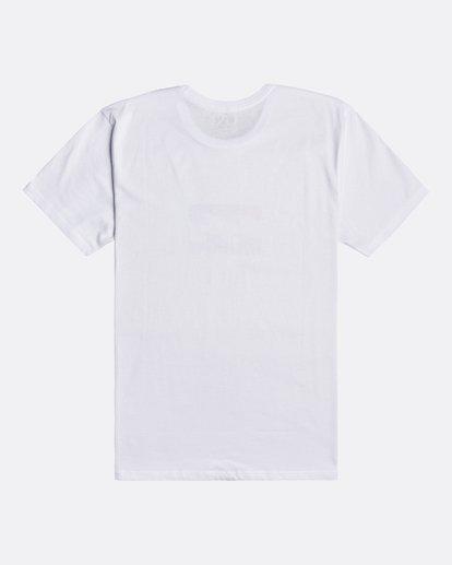 1 Team Wave - Camiseta para Hombre Blanco U1SS51BIF0 Billabong