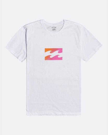 0 Team Wave - Camiseta para Hombre Blanco U1SS51BIF0 Billabong