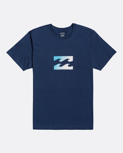 0 Team Wave - Camiseta para Hombre Azul U1SS51BIF0 Billabong