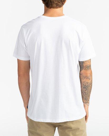 5 Team Wave - Camiseta para Hombre Blanco U1SS51BIF0 Billabong