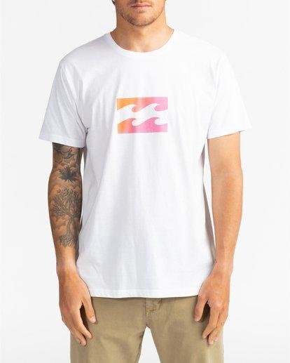 2 Team Wave - Camiseta para Hombre Blanco U1SS51BIF0 Billabong