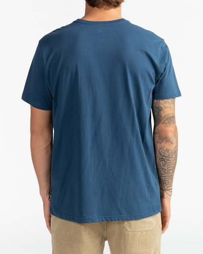 5 Team Wave - Camiseta para Hombre Azul U1SS51BIF0 Billabong