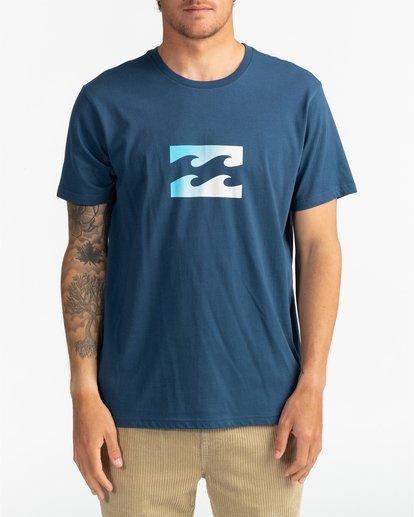 2 Team Wave - Camiseta para Hombre Azul U1SS51BIF0 Billabong