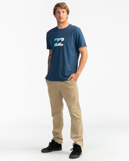 4 Team Wave - Camiseta para Hombre Azul U1SS51BIF0 Billabong