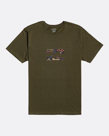0 Team Wave - T-shirt pour Homme  U1SS52BIF0 Billabong