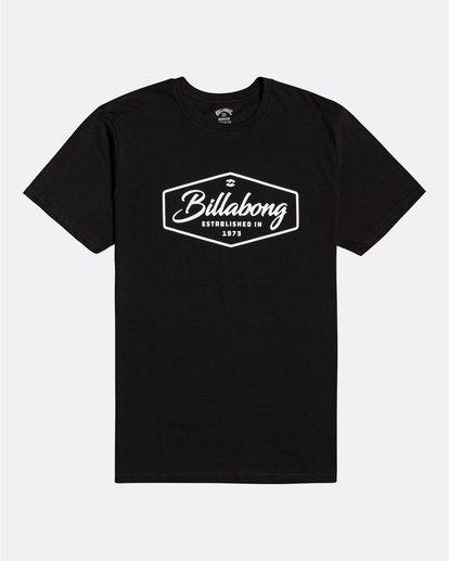 0 Trademark - Camiseta para Hombre Negro U1SS53BIF0 Billabong