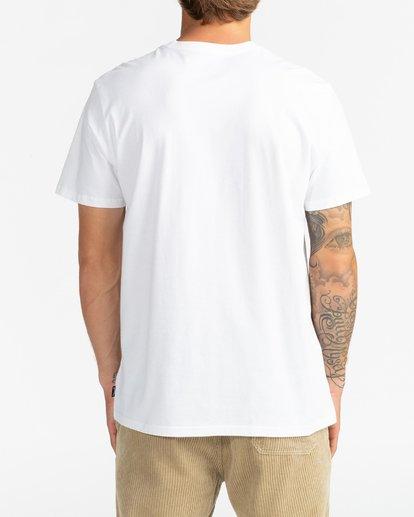 5 Trademark - Camiseta para Hombre Blanco U1SS53BIF0 Billabong