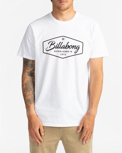 2 Trademark - Camiseta para Hombre Blanco U1SS53BIF0 Billabong