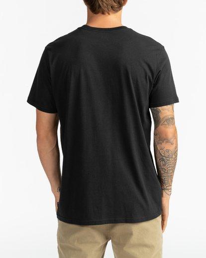 5 Trademark - Camiseta para Hombre Negro U1SS53BIF0 Billabong