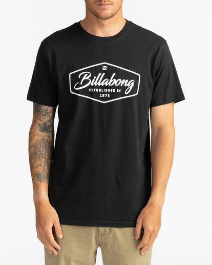 2 Trademark - Camiseta para Hombre Negro U1SS53BIF0 Billabong