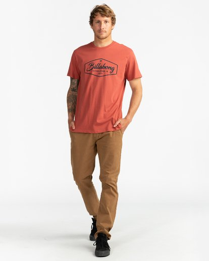 4 Trademark - T-Shirt für Männer  U1SS54BIF0 Billabong