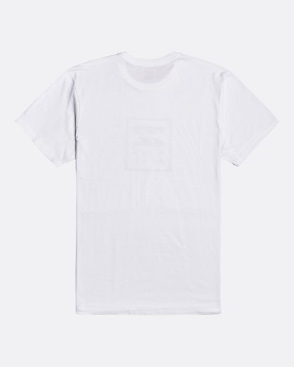1 Unity Stacked - T-Shirt for Men White U1SS55BIF0 Billabong