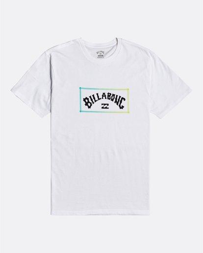 3 Arch - T-Shirt for Men White U1SS57BIF0 Billabong