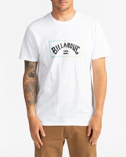 0 Arch - T-Shirt for Men White U1SS57BIF0 Billabong