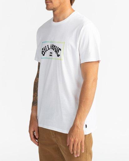 2 Arch - T-Shirt for Men White U1SS57BIF0 Billabong