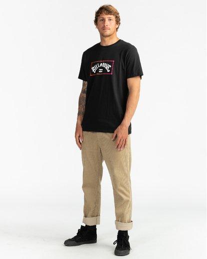 4 Arch - Camiseta para Hombre Negro U1SS57BIF0 Billabong
