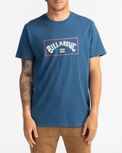 2 Arch - T-Shirt für Männer Blau U1SS58BIF0 Billabong