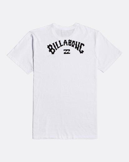 1 Arch Wave - Camiseta para Hombre Blanco U1SS59BIF0 Billabong