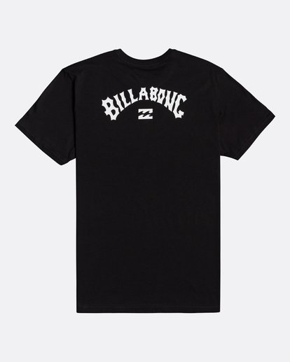 1 Arch Wave - T-Shirt für Männer Schwarz U1SS59BIF0 Billabong