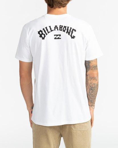 5 Arch Wave - Camiseta para Hombre Blanco U1SS59BIF0 Billabong