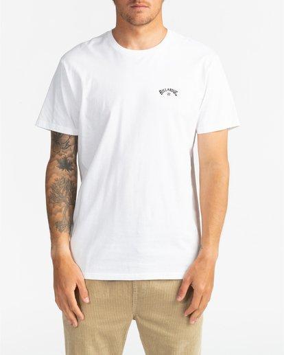 2 Arch Wave - Camiseta para Hombre Blanco U1SS59BIF0 Billabong