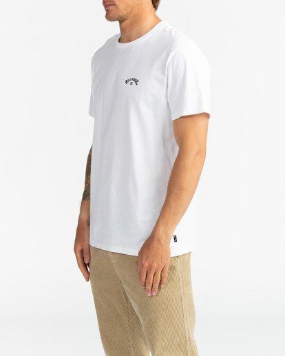 3 Arch Wave - Camiseta para Hombre Blanco U1SS59BIF0 Billabong