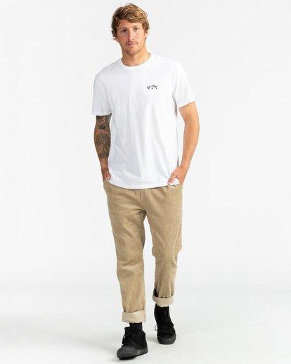 4 Arch Wave - Camiseta para Hombre Blanco U1SS59BIF0 Billabong
