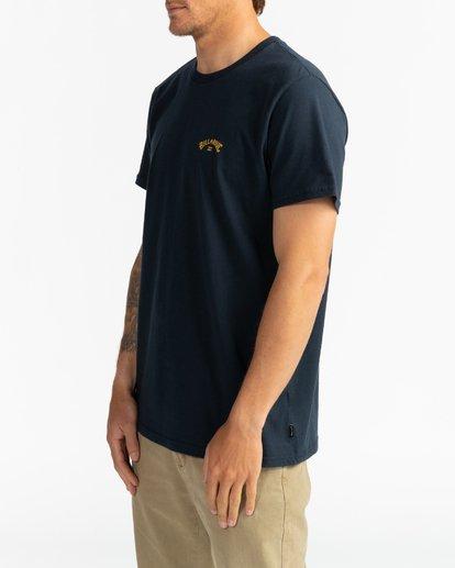 2 Arch Wave - Camiseta para Hombre Azul U1SS60BIF0 Billabong